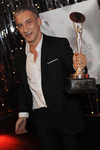 Hairstylist Akin Konizi crowned the 2008 British Hairdresser of the Year